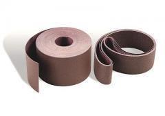 3M 340D Coated Aluminum Oxide Sanding Belt - 80 Grit - 2 14 in Width x 80 in Length - 27326 PRICE is per BELT
