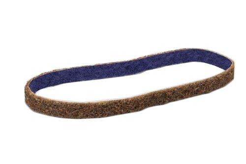 3M Scotch-Brite DF-BL Non-Woven Aluminum Oxide Sanding Belt - Coarse Grade - 12 in Width x 18 in Length - 64475 PRICE is per BELT