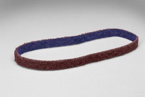3M Scotch-Brite DF-BL Non-Woven Aluminum Oxide Sanding Belt - Medium Grade - 12 in Width x 12 in Length - 64457 PRICE is per BELT