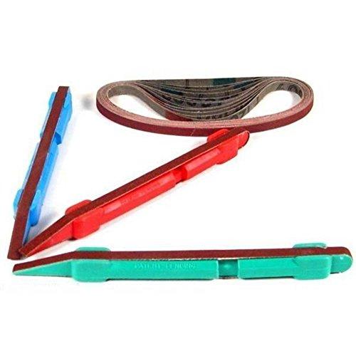Sandpaper Kit 3 Sanding Belts Stick Abrasives Tools