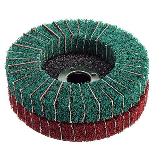 100mm 120240 Grit Nylon Fiber Wheel Abrasive Polishing Buffing Disc