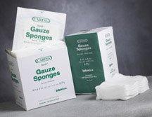 Medline PRM21444 Caring Non-Woven Sterile Gauze Sponge 4 x 4 4-Ply Pack of 600