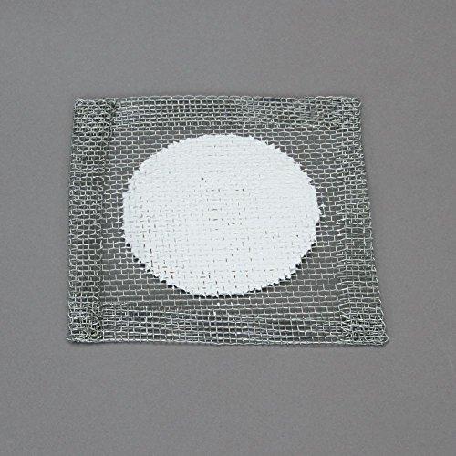 Wire Gauze Ceramic Fiber Center 4 x 4