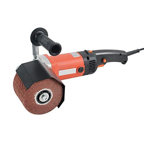 CARESHINE Car Polisher Polishing Machine Handheld Sander Polisher with 2 Polishing WheelsDetachable Handle Ideal for Car Sanding Polishing Waxing Sealing Glaze 1400W 110V