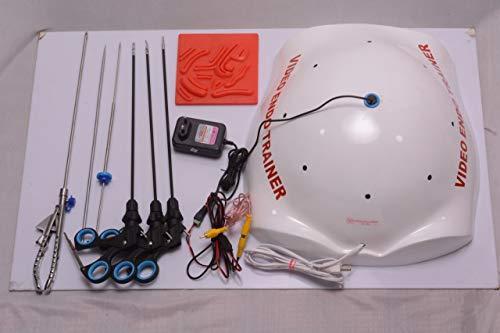 Laparoscopic Simulation Training Box Surgery Doctors All Basic 12Pc Instruments