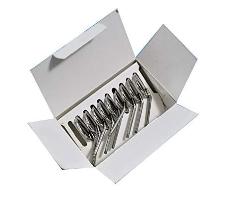 Tufail Box of 12 Mouth Mirrors 5 Head Cone Socket Dentist Dental Instruments 1 Handle