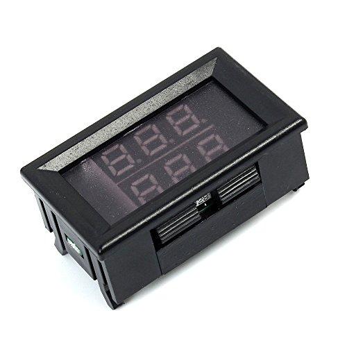 TOOGOO 056 inch RedBlue Dual Display Digital LED Thermometer Temperature Meter Waterproof Metal Probe Sensor Module -20~100 Celsius
