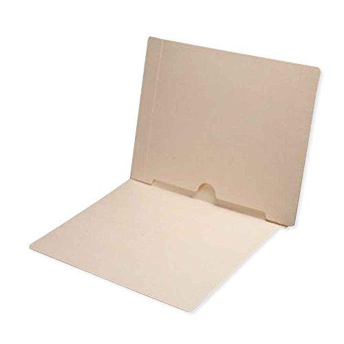 JETER 2272-56 End Tab Folder 2-ply FAS 1 14Pt Manila Half Pocket on Left Side 12 14 x 9 12 Pack of 250