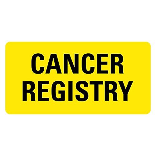 Cancer Registry Medical Records Labels LV-MRL3