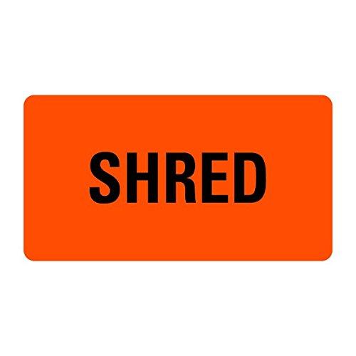 Shred Medical Records Labels LV-MRL23