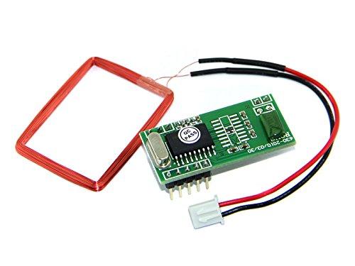 SeeedStudio - 125Khz RFID Module - UART TTL Interface EM4100 LED Buzzer - DIY Maker Open Source BOOOLE