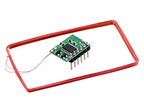 SeeedStudio - Mini 125Khz RFID Module Presoldered Antenna 70mm Reading Distance