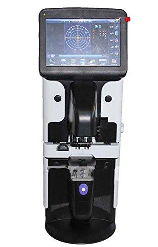 Huanyu Automatic Lensmeter 7 LCD Smart Lensometer Focimeter Lens Meter Glasses Optometry Equipment with IPD Printing UV Measurement Function