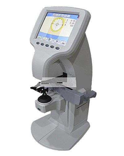 Huanyu Automatic Lensmeter Color LCD Screen Lensometer Focimeter Lens Meter Optical Equipment 110V