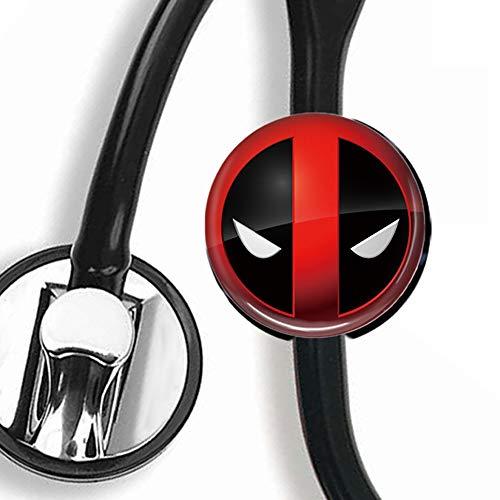 Guu - DeadpoolStethoscope TagSteth ID TagNurse Doctor Stethoscope ID Tag
