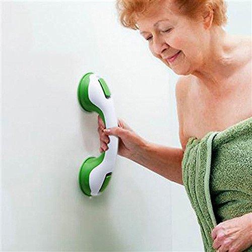 Trolax TM Saf ety Helping Handle Anti Slip Support Toilet bthroom safe Grab Bar Handle Vacuum Sucker Suction Cup Handrail Grip