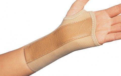 Dj Orthopedics Elastic Wrist Brace Right Large - Model 79-87077 - Each