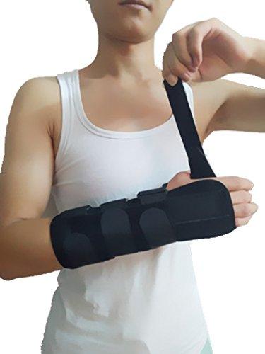 Forearm and Wrist Support Splint Brace Forearm Immobilizer Brace Right Hand Medium