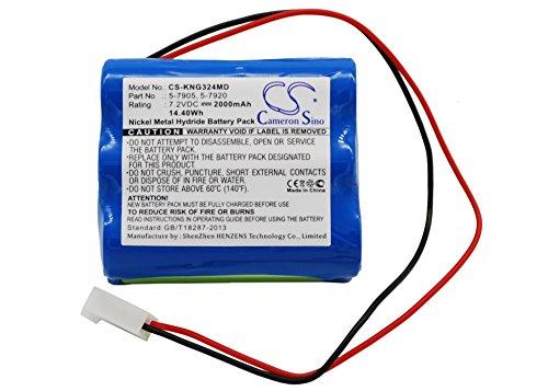 720V 2000mAh  1440Wh CameronSino Ni-MH Replacement Battery for Kangaroo 5-7905 5-7920 fits Kangaroo Control Enteral Feeding Pump Pump 324