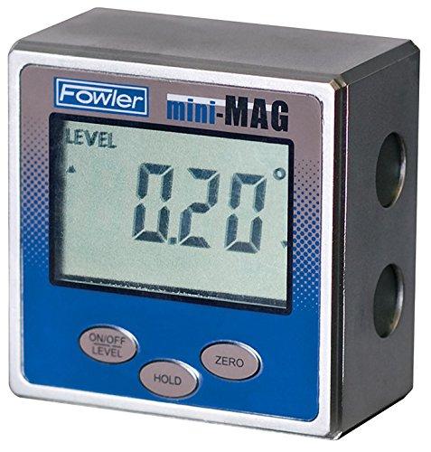 Fowler Full Warranty Mini-MAG Protractor 54-422-450-1 360° Maximum Measurement 005° Repeatability