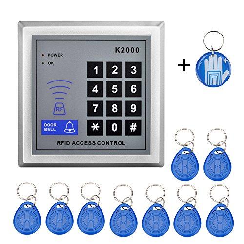OBO Hands RFID KEYPAD 125KHz RFID keychains  Standalone Keypad RFID ReaderEpoxy Rfid Tag for Door Access Control System K2000