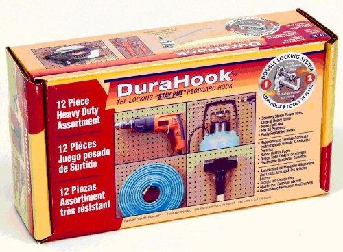 Triton Products DuraHook Heavy-Duty Hook Assortment - 12-Pc Model 912