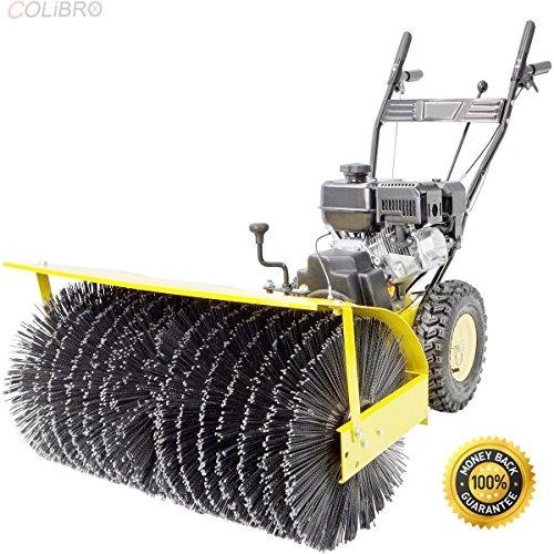 COLIBROX--31 Walk Behind snow Sweeper Power Brush Broom Industrial 7hp Gas Engine