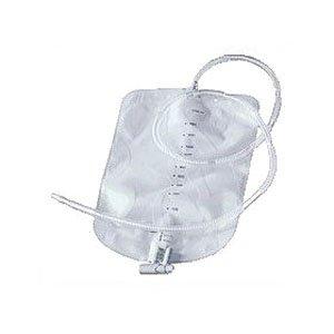 Coloplast 21365 - Urostomy Night Drainage Bag with Anti-Reflux Valve 2000 mL