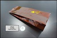 PCI - Brown Premium Aluminum Coffee Bag with Valve 8oz
