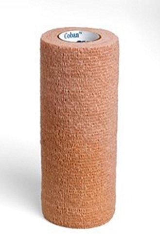 3M-1586 Bandage Coban CompressionWrap Latex Elastic 6x5yd Tan 10 Per Case by 3M Part No 1586