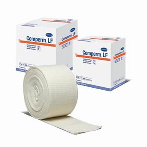 HARTMANN USA COMPERM LF TUBULAR ELASTIC BANDAGES Tubular Bandage Size F 4 x 11 yds Latex Free LF