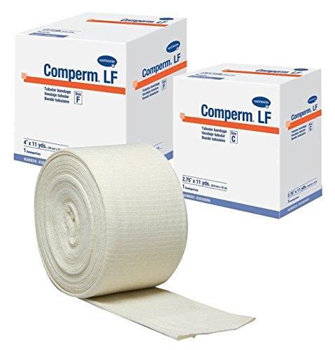 Hartmann 83060000 Comperm Tubular Bandage Size F 33 Length 4 Width Latex Free