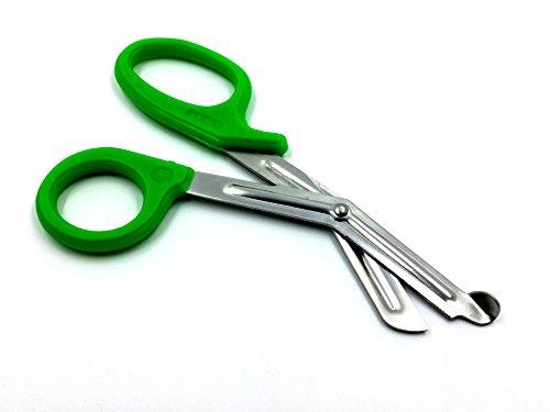 IMS IMS-PAR-GRN7 Autoclavable Neon Green Trauma Paramedic Utility Bandage Shears Scissors 75 L