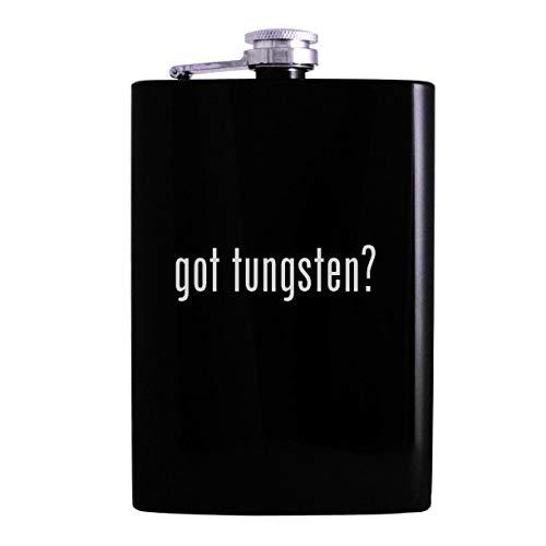 got tungsten - 8oz Hip Alcohol Drinking Flask Black