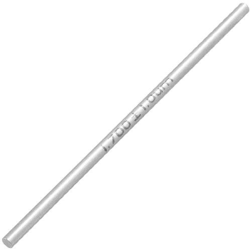 uxcell Black Tungsten Carbide 17mm Diameter Pin Gage Gauge w Storage Box