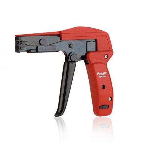 ProsKit CP-382 Cable Tie Gun Plier Cutting Tighting Steel Beam Line Tight Line Gun
