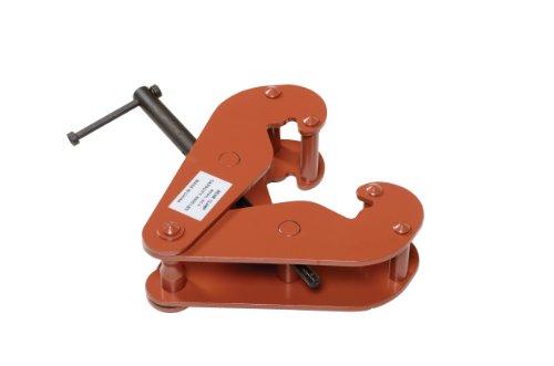 Vestil BC-6 Steel Beam Clamp 6000 lbs Capacity 3-12 to 12-14 Flange Width