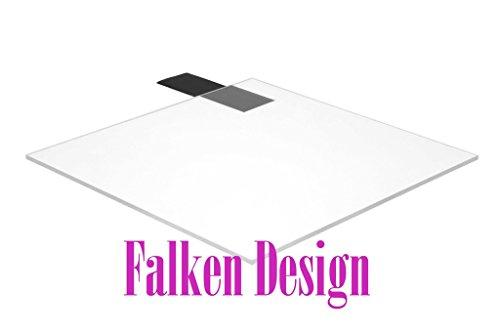 Falken Design 24 x 96 - 12 0472 Clear Acrylic Sheet  Free Cut to Size viaContact Seller Plexiglass Lucite