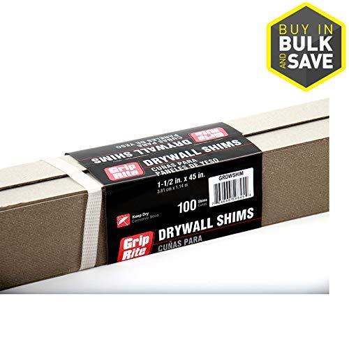Grip-Rite Shim Drywall 100-Bundle