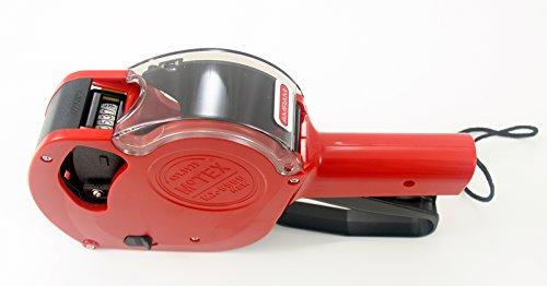 Amram 1 Line 6 DigitsBands Pricemarker Pricing Marking Gun by Motex Includes 1 Replacement Ink Roller