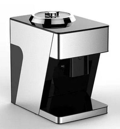 Automatic Intelligent Home Oil Extractor Cold Hot Press Machine oil presser Silver