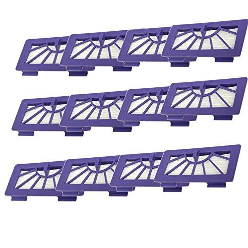 12 Packs Hepa Filter Replacement for XV-21 XV Signature XV Signature Pro XV-11 XV-12 945-0048 XV-15 Neato Robotic Pet Allergy Filter