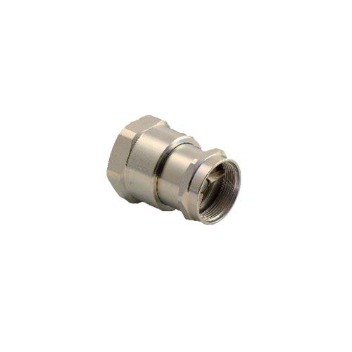 Faster Coupling RF 06 CS095 F5N Refrigeration Brass Female 38 x 38 Copper Tube End Neoprene Seal