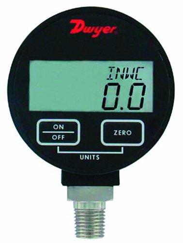 Dwyer DPGA Series Digital Pressure Gauge for Liquids and Compatible Gases Range 0 to 300 psig