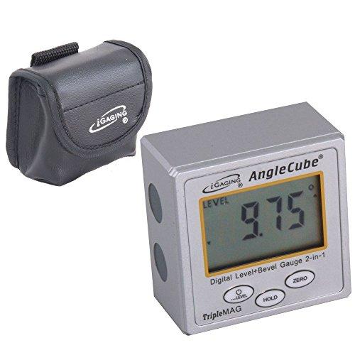 iGaging AngleCube Digital Level   Bevel Gauge 2 in 1