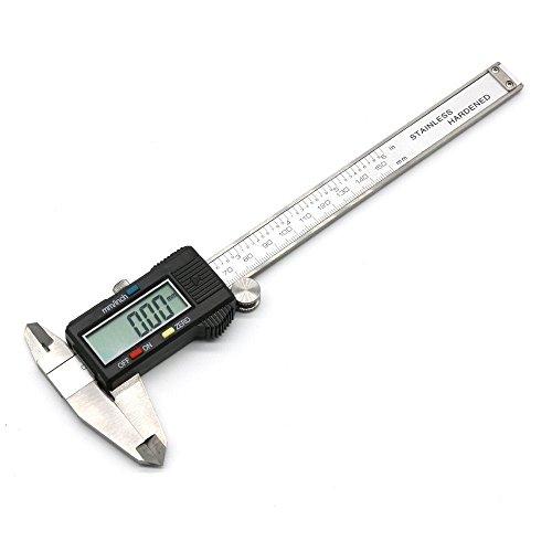 6inch 150mm LCD Digital Vernier Caliper Electronic Gauge Micrometer Measurement Stainless Steel