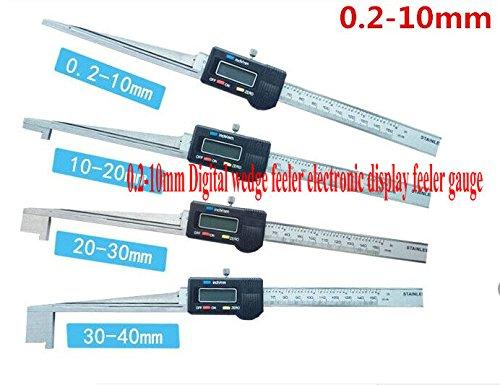 GOWE 02-10mm Digital wedge feeler electronic display feeler gauge