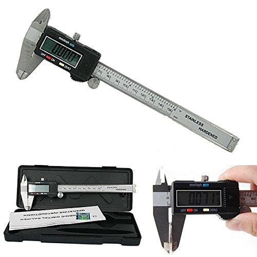 HFS Digital Electronic Gauge Stainless Steel Vernier Caliper 150mm6inch Micrometer