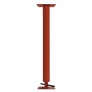 Adjustable Steel Building Column 35 OD 11 Gauge 4 Adjustment Range