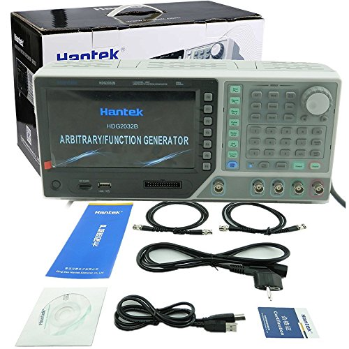 HDG2032B 16 Channels Output 2 Channels 16Bit 30MHz 250MSas 64M Memory Depth Function Signal Arbitrary Waveform Generator 30MHz Waveform Function Generator DDS Function Generator Arbitrary USB